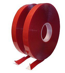 Clear acrylic tape