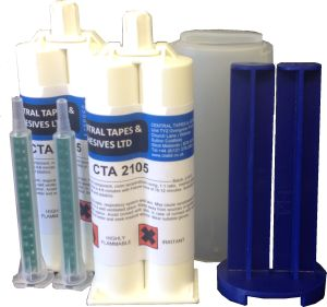 Trial kits two part adhesives